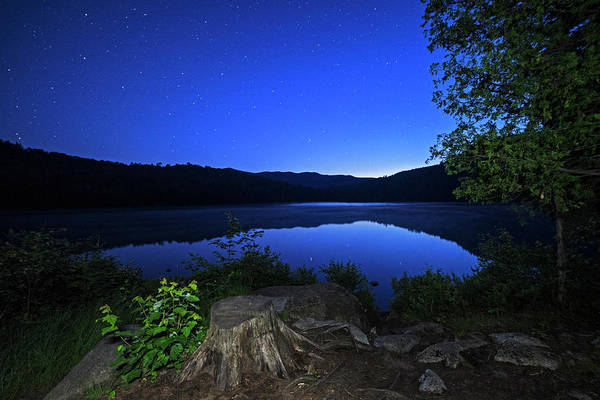 Photograph - Heart Lake At Twilight Adirondack Loj North Elba New York Ny by Toby McGuire