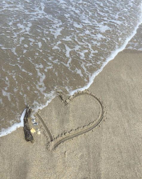 Photograph - Heart Lost by Arlene Carmel