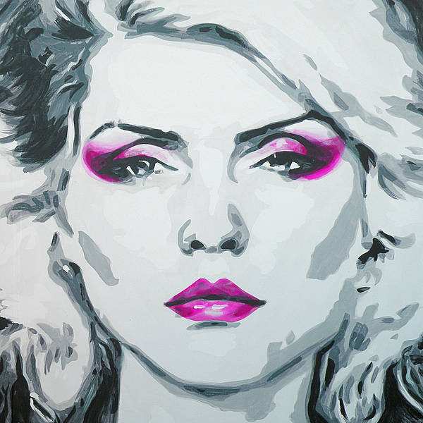 Blondie Wall Art - Mixed Media - Heart Of Glass by Leigh Banks