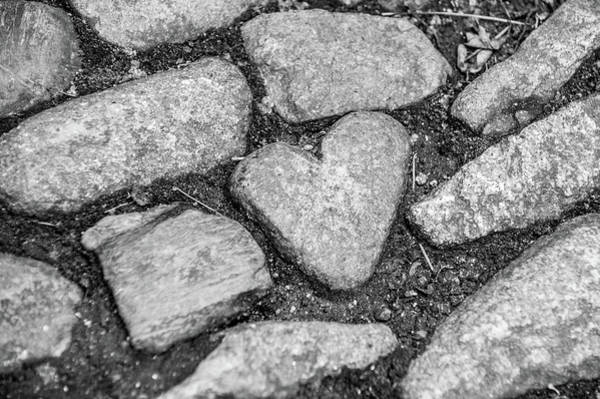 Photograph - Heart Of Stone by Helen Northcott
