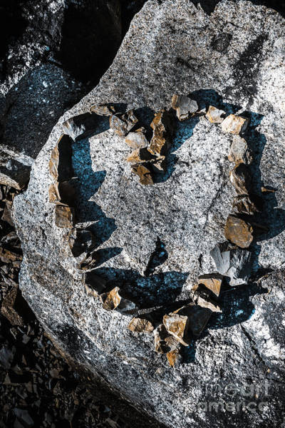 Elemental Photograph - Heart Of Stone by Jorgo Photography - Wall Art Gallery
