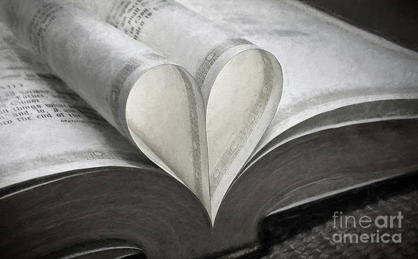 Wall Art - Photograph - Heart Of The Book  by Sharon McConnell