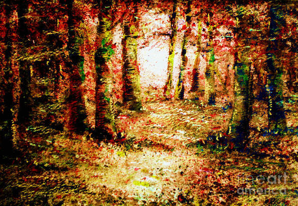 Painting - Heart Of The Forest  by Valerie Anne Kelly