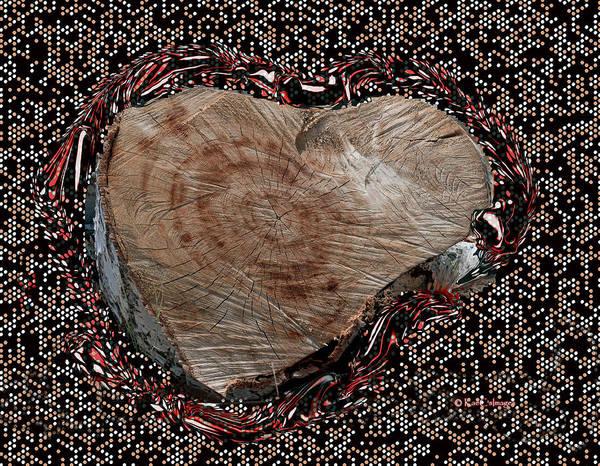 Wall Art - Mixed Media - Heart Of The Matter by Kae Cheatham