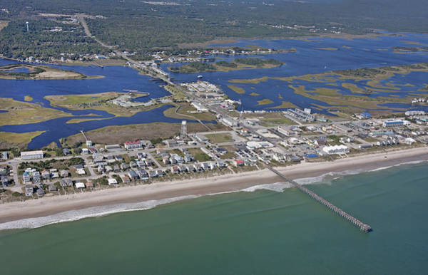 Road Map Photograph - Heart Of Topsail by Betsy Knapp