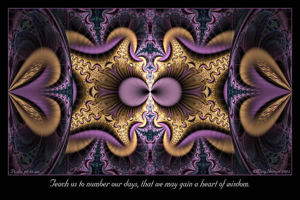 Digital Art - Heart Of Wisdom by Missy Gainer