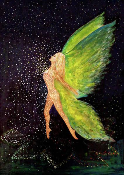Sacred Heart Mixed Media - Heart Wings by Tone Plassen