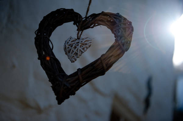 Photograph - Heart With A Heart II by Helen Northcott