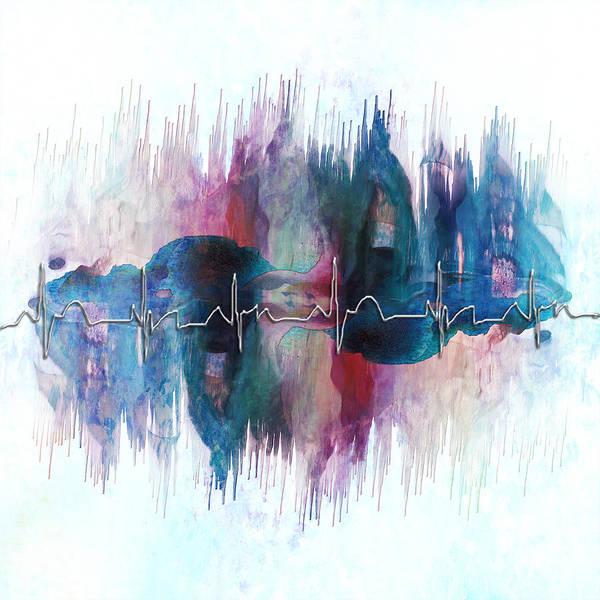 Painting - Heartbeat Drama by Christina VanGinkel