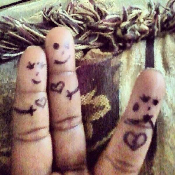Weapon Photograph - #heartbroken #fingerart #bored by Seductive Weapon