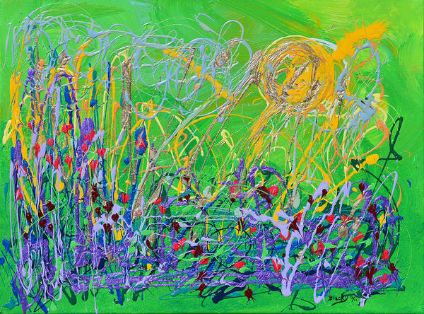 Wall Art - Painting - Heartland by Donna Blackhall
