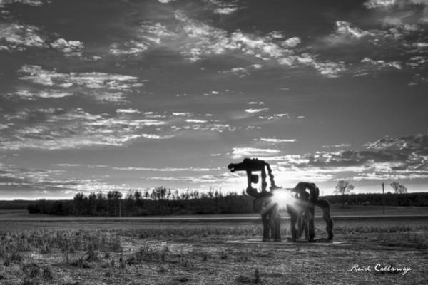 Photograph - Heartlight The Iron Horse by Reid Callaway