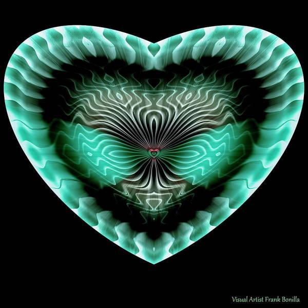 Digital Art - Hearts #13 by Visual Artist Frank Bonilla