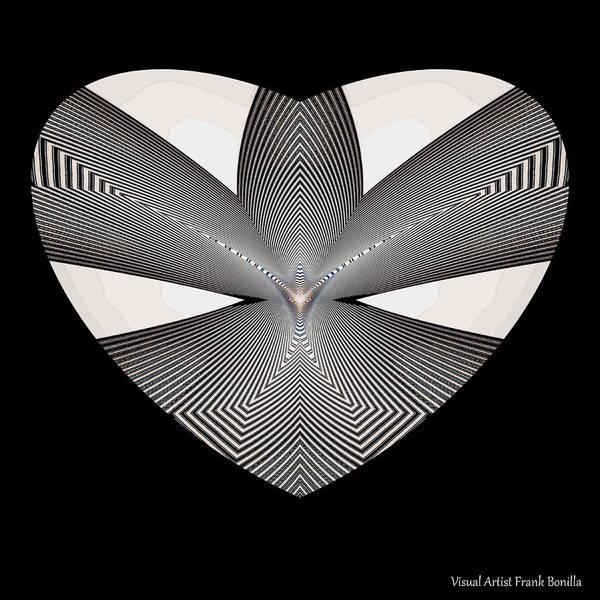 Digital Art - Hearts #33 by Visual Artist Frank Bonilla