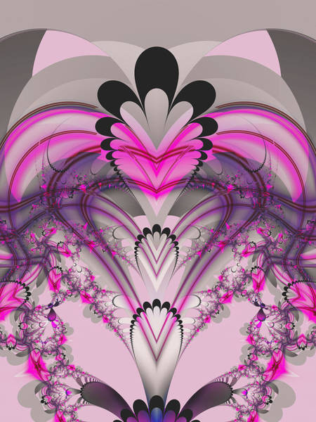 Digital Art - Hearts by Frederic Durville