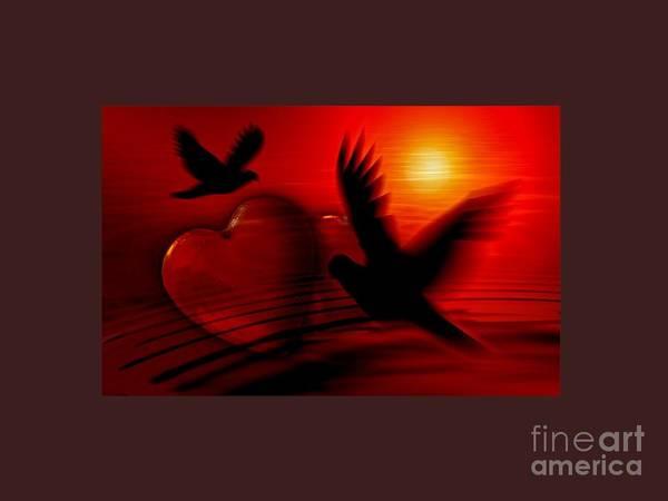 Satanism Digital Art - Hearts by Frederick Holiday