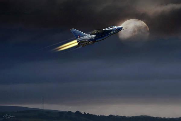 Lightning Digital Art - Heat Of The Night by Peter Chilelli
