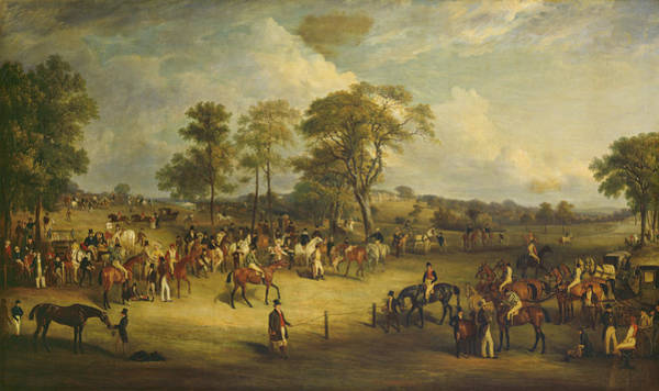 Wall Art - Painting - Heaton Park Races by John Ferneley