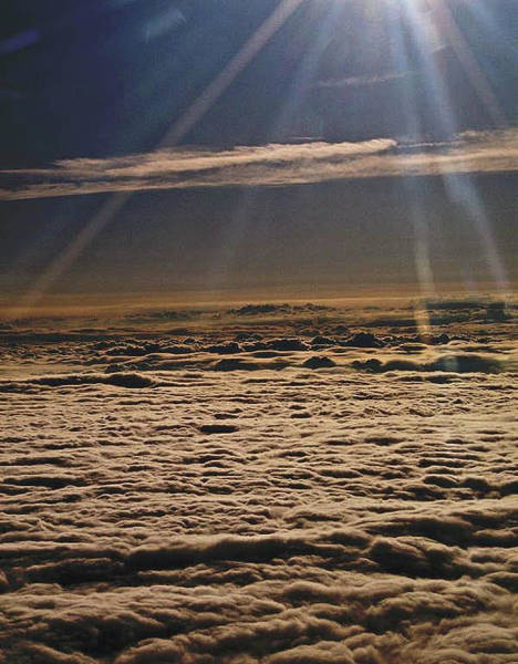 Photograph - Heaven Above The Clouds by Trish Tritz