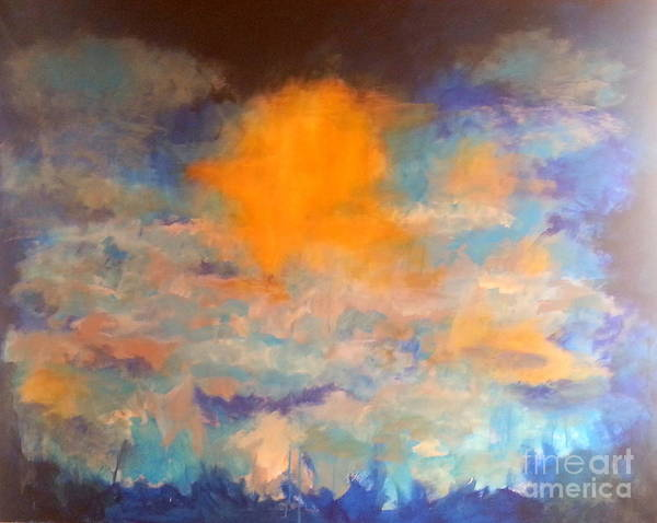 Painting - Heaven Blue by Dagmar Helbig