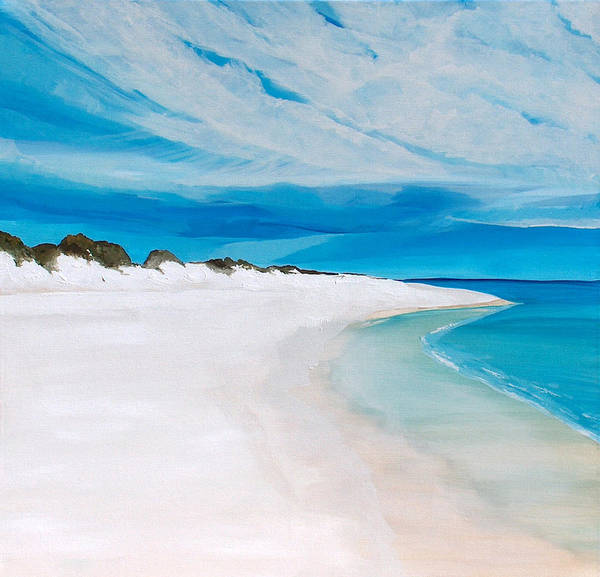 Gulf State Park Painting - Heaven by Racquel Morgan