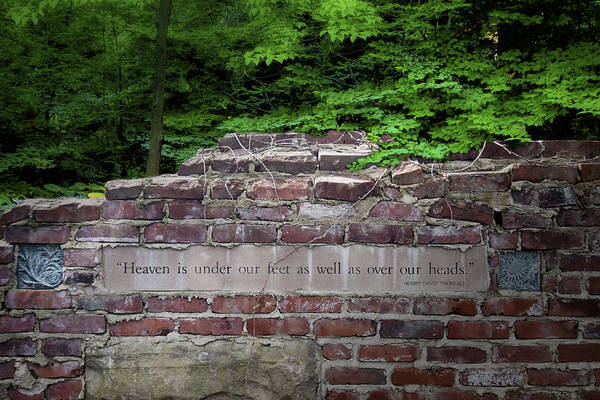 Stone Wall Wall Art - Photograph - Heaven Under Our Feet Wall by Tom Mc Nemar