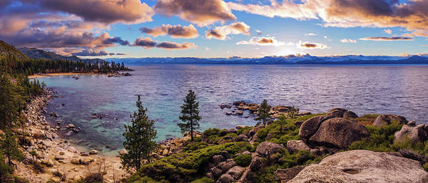 Photograph - Heavenly Glow At Sand Harbor By Brad Scott by Brad Scott