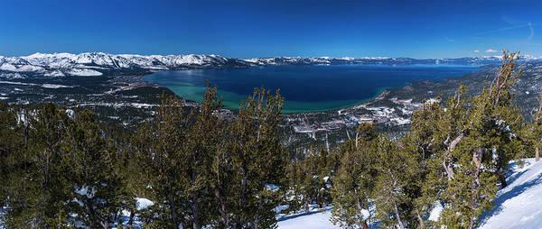 Photograph - Heavenly Gondola View By Brad Scott by Brad Scott