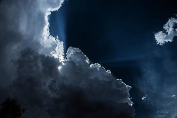 Photograph - Heavenly Light by Karen Slagle