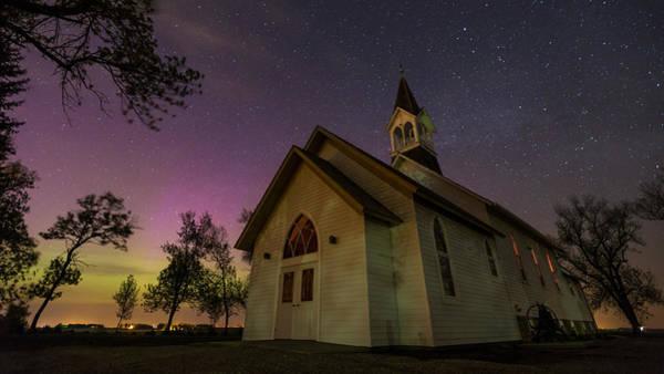 Wall Art - Photograph - Heavenly Lights 2 by Aaron J Groen