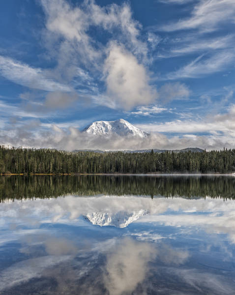 Photograph - Heavenly Reflection by Loree Johnson