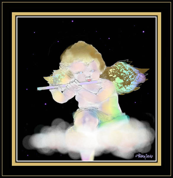 Painting - Heavenly Serenade by Larry Talley