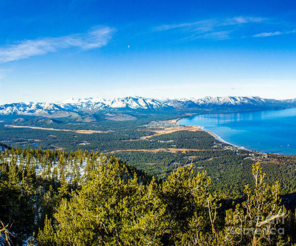Photograph - Heavenly South Lake Tahoe View 1 - Left Panel by G Matthew Laughton
