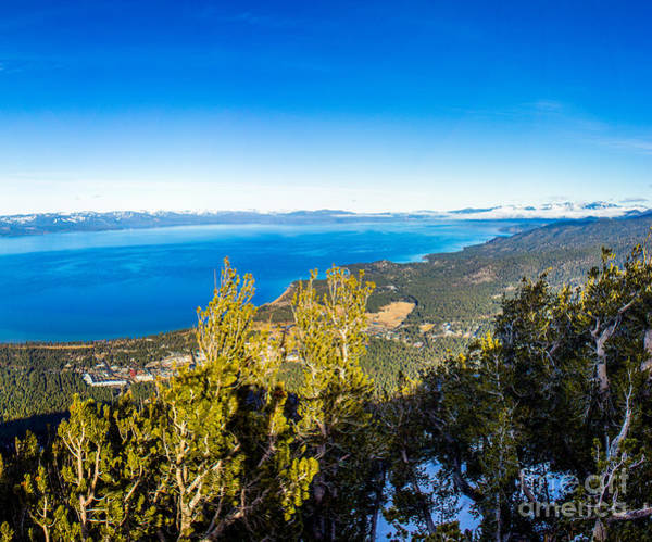 Photograph - Heavenly South Lake Tahoe View 1 - Right Panel by G Matthew Laughton