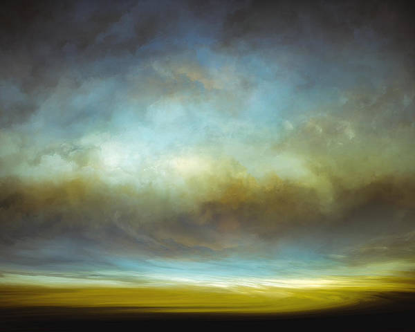 Cloud Mixed Media - Heavenly View by Lonnie Christopher