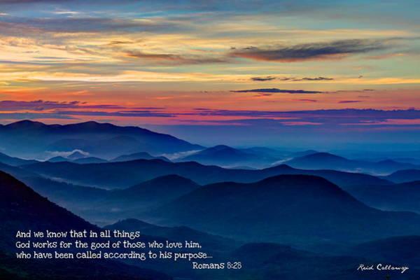Photograph - Heavenly View Sunrise And Faith by Reid Callaway