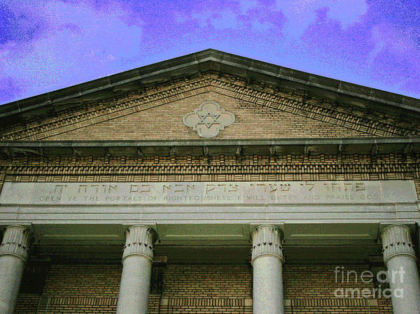 Photograph - Heavens Above Old Temple by Larry Oskin