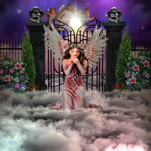 Digital Art - Heavens Gate by Artful Oasis