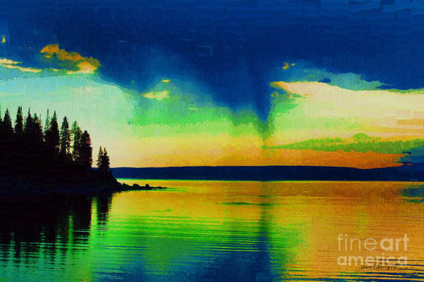 Diane Berry Wall Art - Painting - Heaven's Rest by Diane E Berry