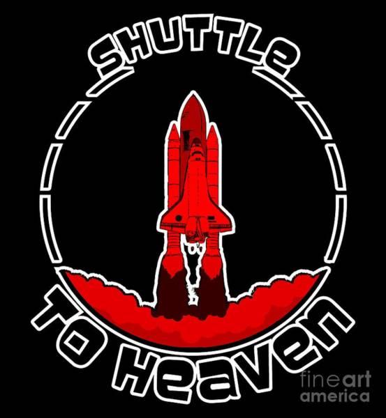 Heavens Shuttle Art Print
