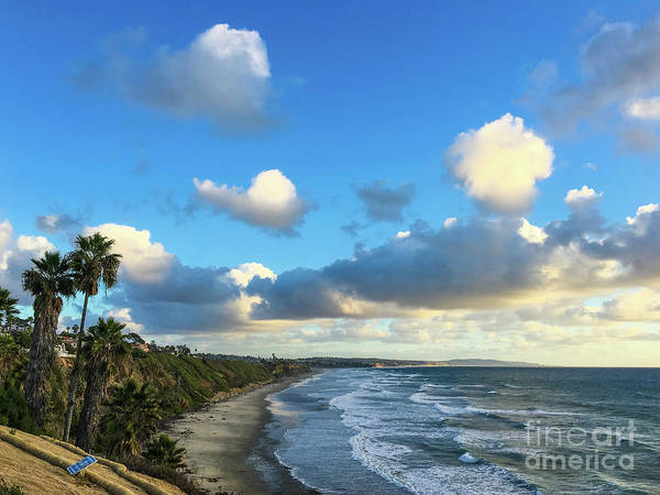 Photograph - Heavy Clouds At Swami's Beach by David Levin