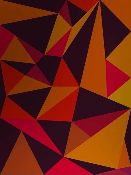 Digital Art - Heavy Composition With Triangles by Alberto RuiZ