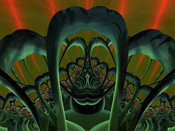 Digital Art - Heavy Mellow by Jeff Iverson