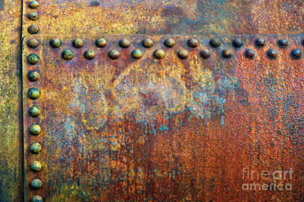 Weathering Photograph - Heavy Metal by Tim Gainey