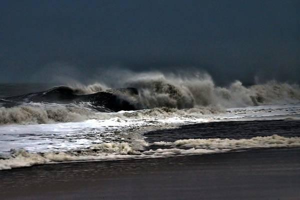 Bemis Photograph - Stormy Surf by Kim Bemis