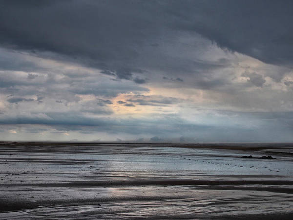Northumbria Photograph - Heavy Weather - 2 by Philip Openshaw