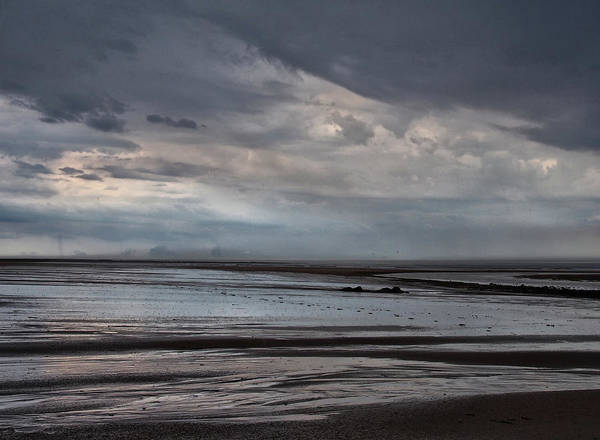 Northumbria Photograph - Heavy Weather by Philip Openshaw