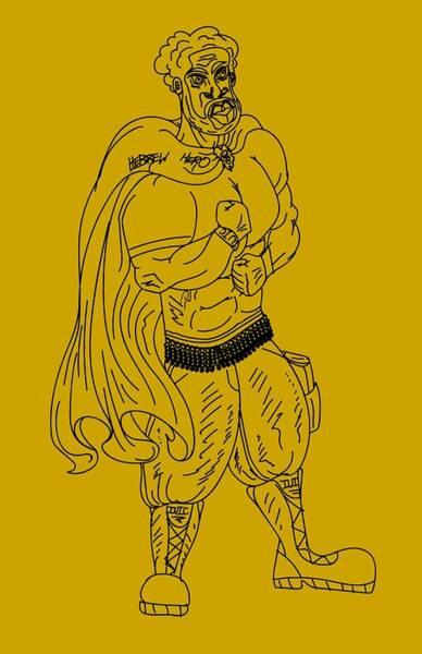 Drawing - Hebrew Hero by Robert Watson