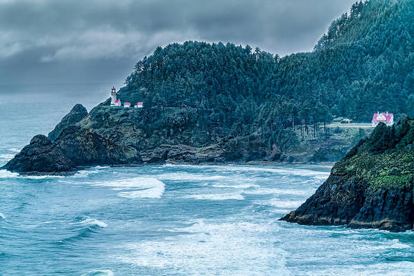 Photograph - Heceta Head Lighthouse by Harold Coleman