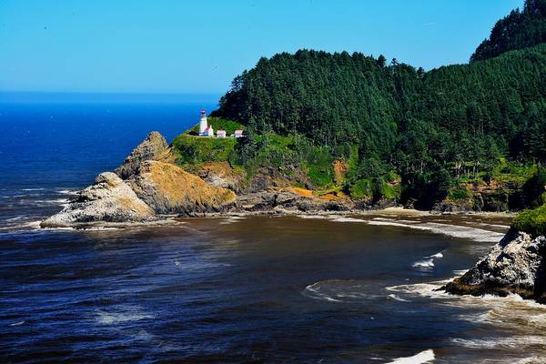 Photograph - Heceta Head Lighthouse by Walt Sterneman